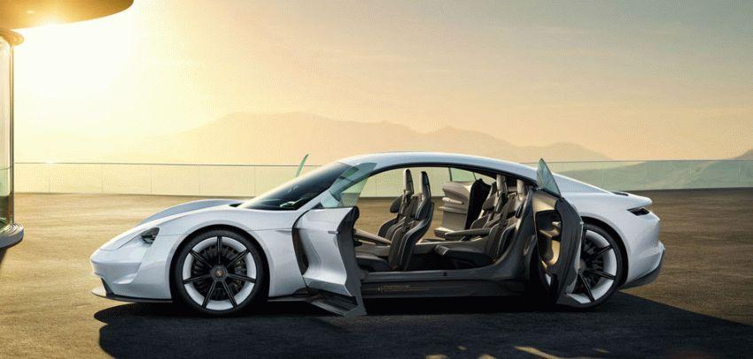 koncept avto  | porsche mission e 2 | Porsche Mission E (Порше Миссия Е) | Porsche Mission