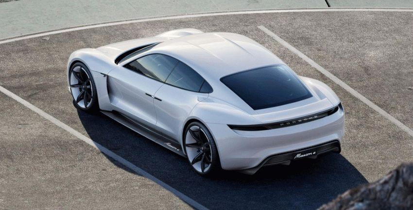 koncept avto  | porsche mission e 3 | Porsche Mission E (Порше Миссия Е) | Porsche Mission
