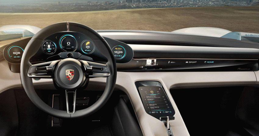 koncept avto  | porsche mission e 4 | Porsche Mission E (Порше Миссия Е) | Porsche Mission