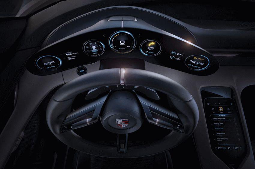 koncept avto  | porsche mission e 6 | Porsche Mission E (Порше Миссия Е) | Porsche Mission