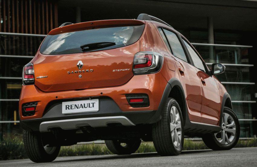 krossovery renault  | renault sandero stepway 5 | Renault Sandero Stepway (Рено Сандеро Степвей) | Renault Sandero Stepway