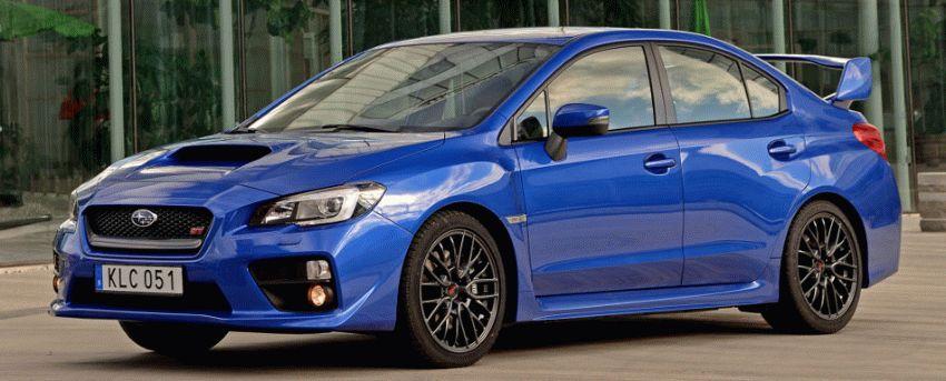 sedan subaru  | subaru wrx sti 1 | Subaru WRX STI (Субару ВРХ СТИ) | Subaru WRX