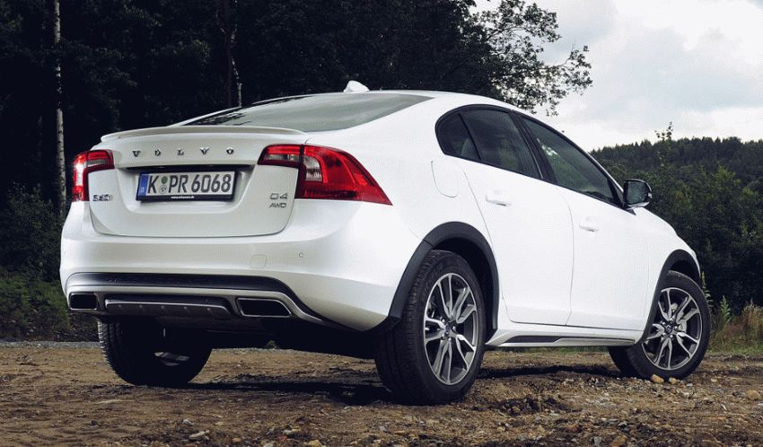 sedan volvo  | universal ot volvo 6 | Volvo S60 Cross Country (Вольво S60 Кросс Кантри) | Volvo S60