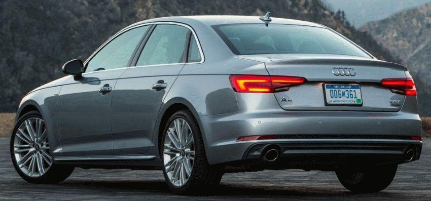 sedan audi  | audi a4 versii sedana 3 | Audi A4 (Ауди А4) 2017 2018 седан | Audi A4