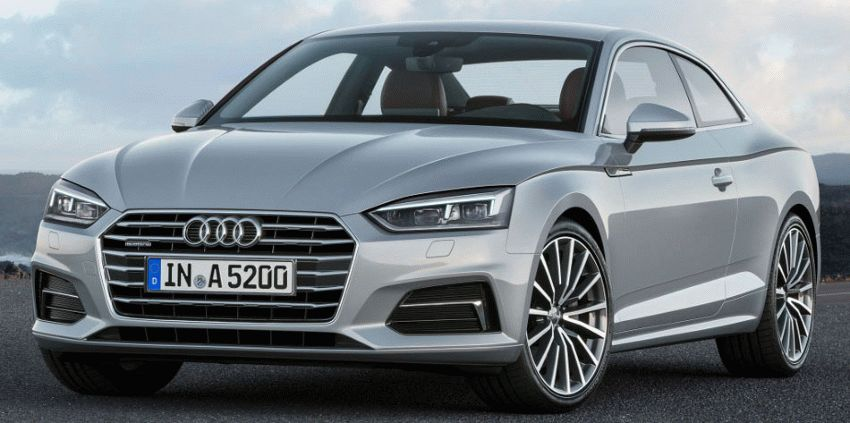 kupe audi  | audi a5 coupe 2016 1 | Audi A5 (Ауди А5) купе 2017 2018 | Audi A5