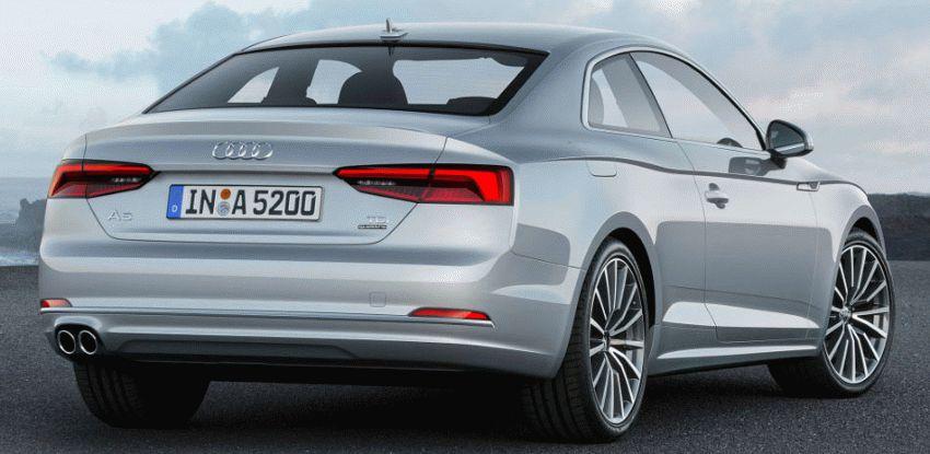 kupe audi  | audi a5 coupe 2016 6 | Audi A5 (Ауди А5) купе 2017 2018 | Audi A5