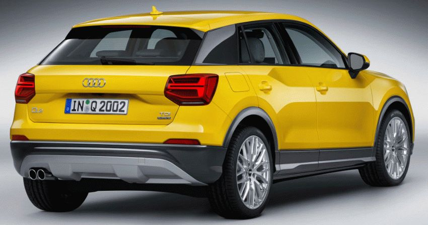 krossover katalog  | audi q2 tdi quattro vnedorozhnik 5 | Audi Q2 TDI quattro Кроссовер | Audi Q2