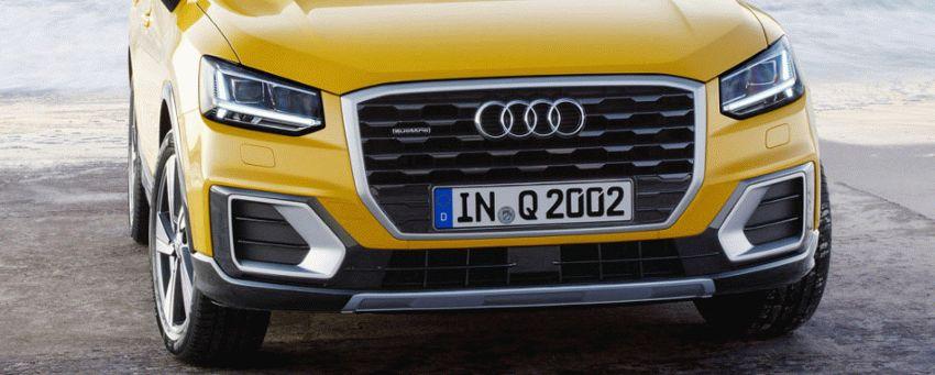 krossovery audi  | audi q2 11 | Audi Q2 (Ауди Ку 2) 2017 2018 | Audi Q2