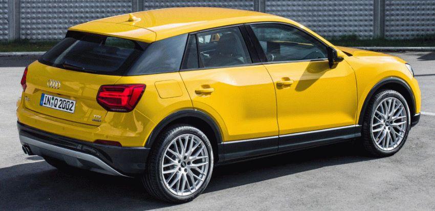 krossovery audi  | audi q2 4 | Audi Q2 (Ауди Ку 2) 2017 2018 | Audi Q2