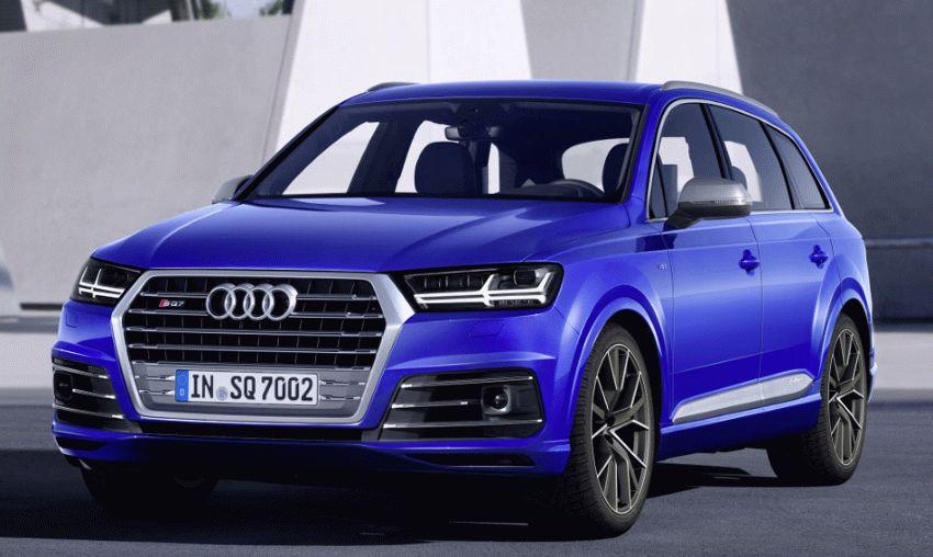 krossovery audi  | audi sq7 1 | Audi SQ7 (Ауди SQ7) тест драйв | Audi SQ7