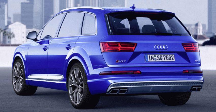 krossovery audi  | audi sq7 7 | Audi SQ7 (Ауди SQ7) тест драйв | Audi SQ7