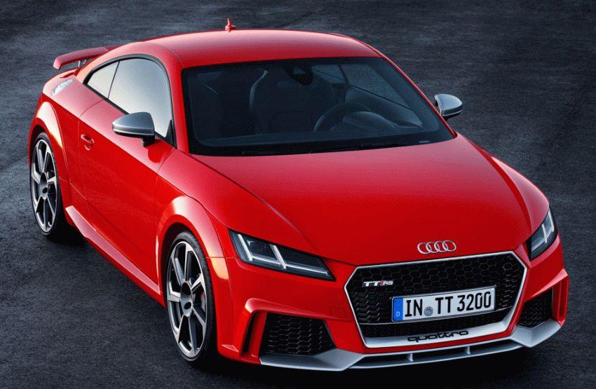 kupe audi  | audi tt rs 2016 1 | Audi TT RS (Ауди ТТ РС) 2017 2018 | Тест драйвAudi Audi TT RS