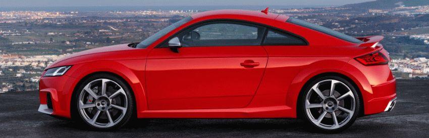 kupe audi  | audi tt rs 2016 2 | Audi TT RS (Ауди ТТ РС) 2017 2018 | Тест драйвAudi Audi TT RS
