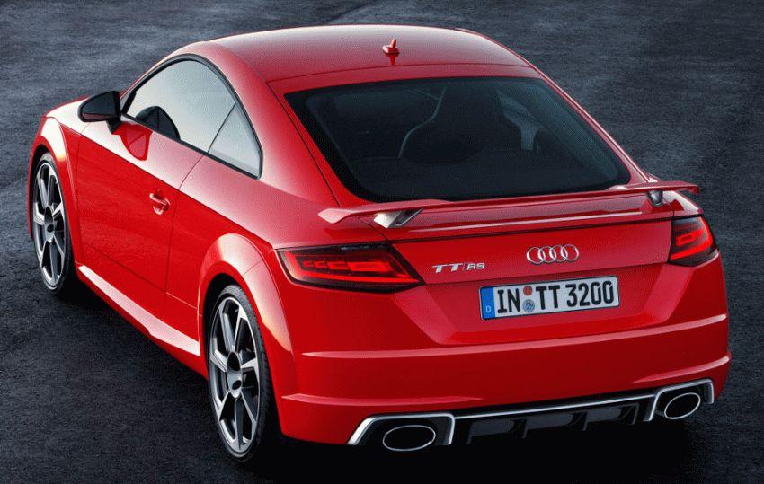kupe audi  | audi tt rs 2016 3 | Audi TT RS (Ауди ТТ РС) 2017 2018 | Тест драйвAudi Audi TT RS