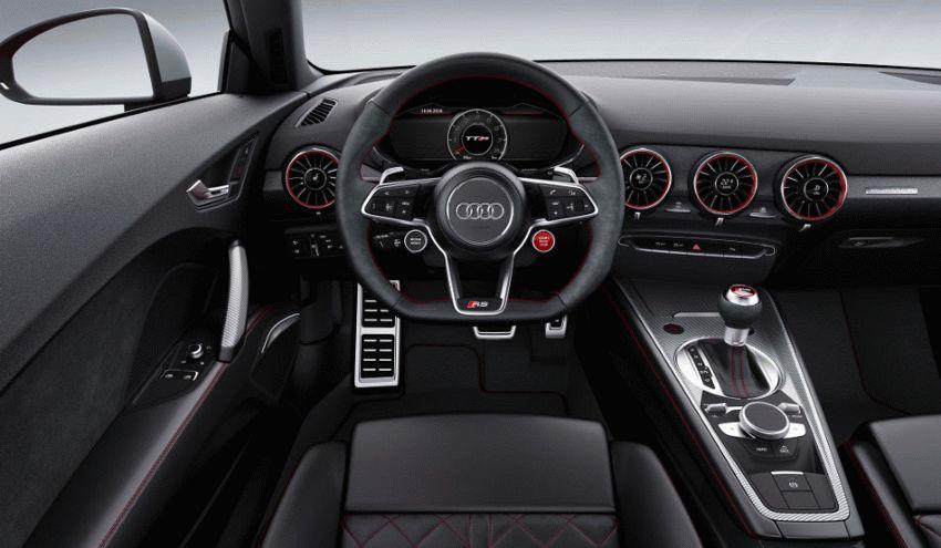 kupe audi  | audi tt rs 2016 4 | Audi TT RS (Ауди ТТ РС) 2017 2018 | Тест драйвAudi Audi TT RS