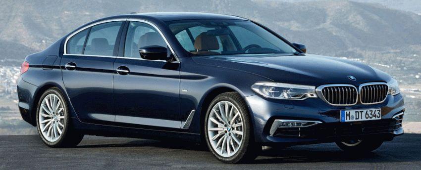sedan bmw  | bmw 5 series 1 | BMW 5 Series (БМВ 5 серии) 2017 2018 | BMW 5