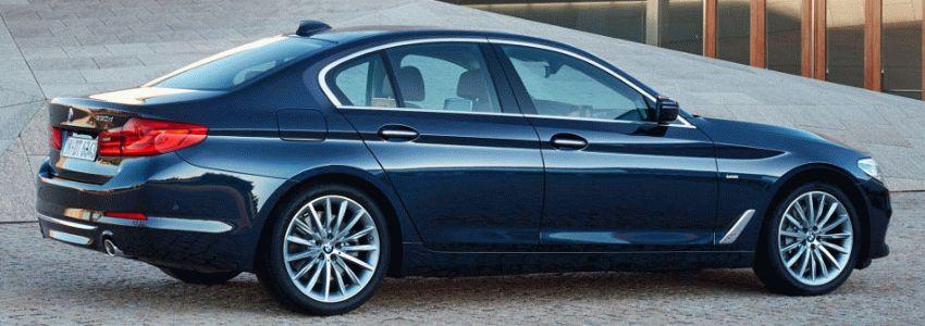 sedan bmw  | bmw 5 series 2 | BMW 5 Series (БМВ 5 серии) 2017 2018 | BMW 5