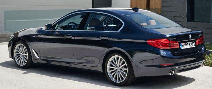sedan bmw  | bmw 5 series 3 | BMW 5 Series (БМВ 5 серии) 2017 2018 | BMW 5