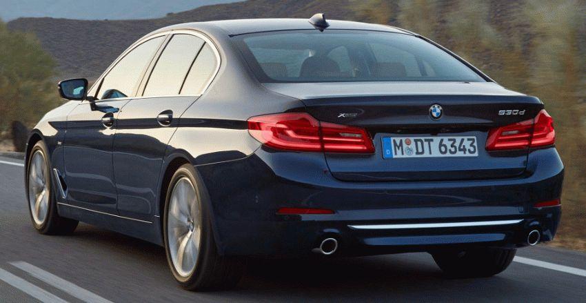 sedan bmw  | bmw 5 series 9 | BMW 5 Series (БМВ 5 серии) 2017 2018 | BMW 5