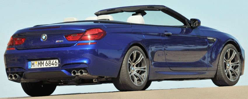 kabriolety bmw  | bmw m6 cabrio 2 | BMW M6 (БМВ М6) кабриолет | BMW M6