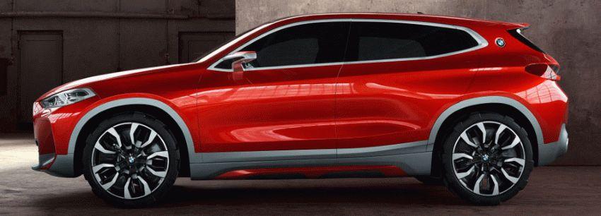 koncept avto  | bmw x2 2 | BMW X2 (БМВ Х2) Концепт кар 2018 | BMW X2