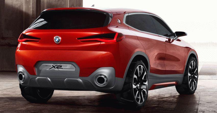 koncept avto  | bmw x2 3 | BMW X2 (БМВ Х2) Концепт кар 2018 | BMW X2