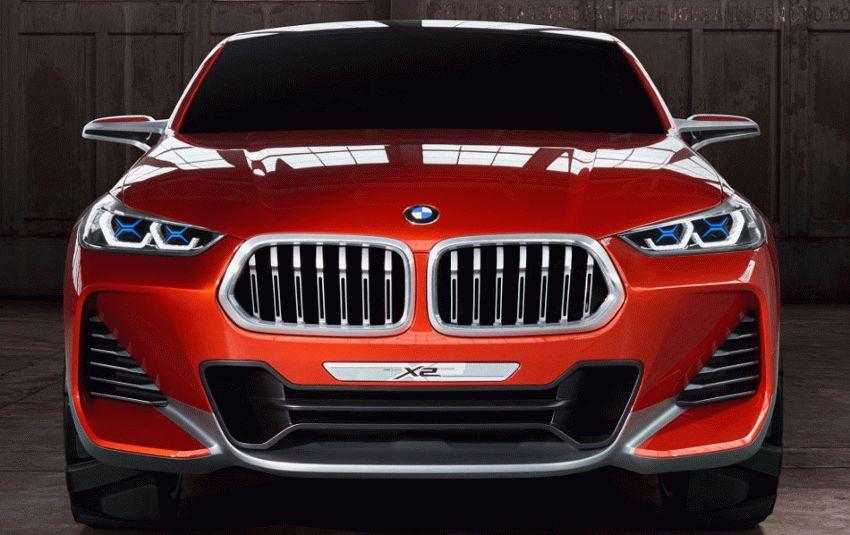 koncept avto  | bmw x2 4 | BMW X2 (БМВ Х2) Концепт кар 2018 | BMW X2