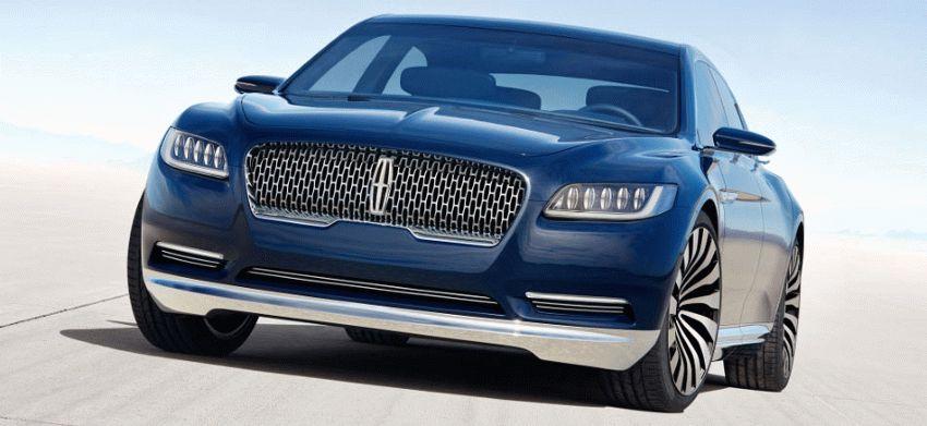 sedan lincoln  | desyatoe pokolenie lincoln continentalenie 1 | Lincoln Continental (Линкольн Континенталь) 2016 2017 | Lincoln Continental