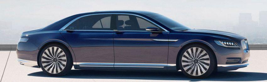 sedan lincoln  | desyatoe pokolenie lincoln continentalenie 4 | Lincoln Continental (Линкольн Континенталь) 2016 2017 | Lincoln Continental