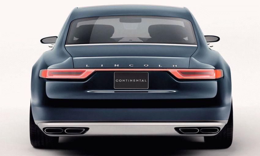 sedan lincoln  | desyatoe pokolenie lincoln continentalenie 5 | Lincoln Continental (Линкольн Континенталь) 2016 2017 | Lincoln Continental