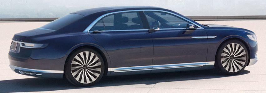 sedan lincoln  | desyatoe pokolenie lincoln continentalenie 6 | Lincoln Continental (Линкольн Континенталь) 2016 2017 | Lincoln Continental