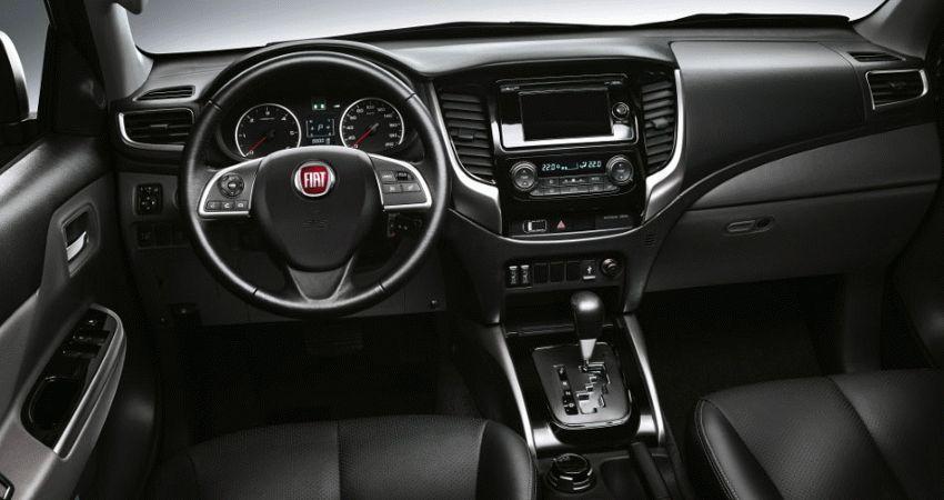 pikapy fiat  | fiat fullback 3 | Fiat Fullback (Фиат Фуллбэк) 2017 2018 | Fiat Fullback