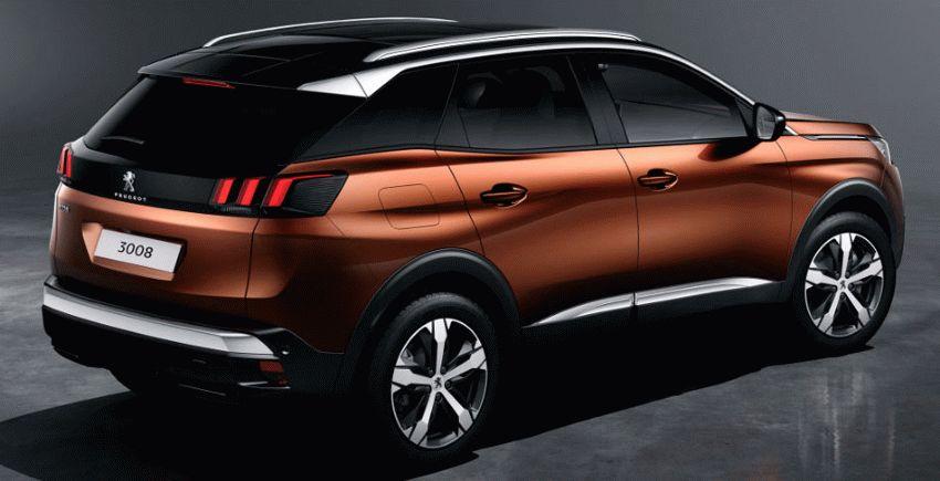 krossovery peugeot  | globalno obnovlennyy peugeot 3008 4 | Peugeot 3008 Пежо 3008 (Пежо 3008) 2017 2018 | Peugeot 3008