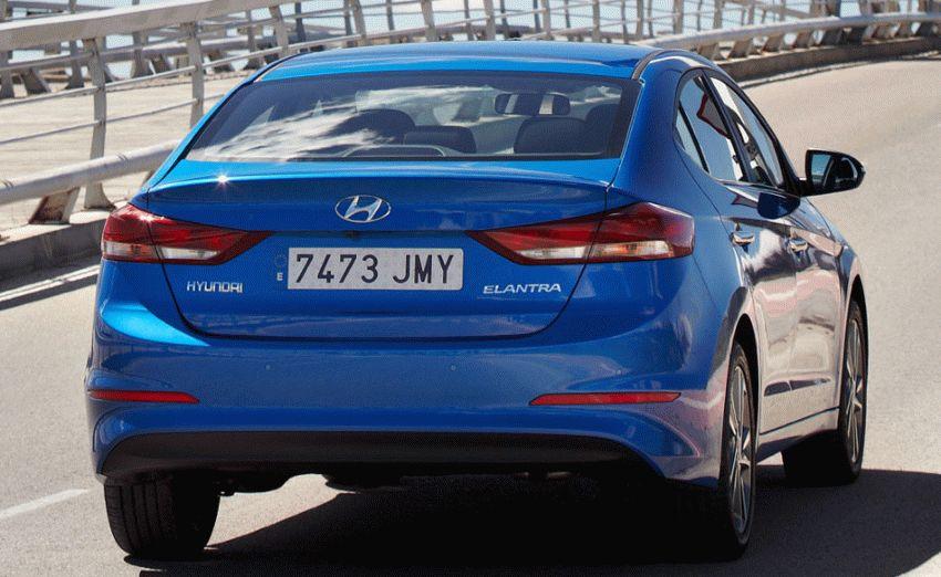 sedan hyundai  | hyundai elantra 9 | Hyundai Elantra (Хендай Элантра) 2017 2018 | Hyundai Elantra