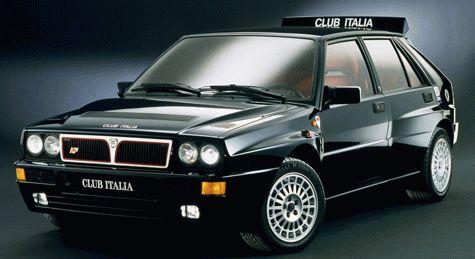 istoriya zarubezhnogo avtoproma  | lancia delta hf integrale 10 | Lancia Delta HF Integrale (Лянча Дельта ХФ интеграле) | Lancia Delta
