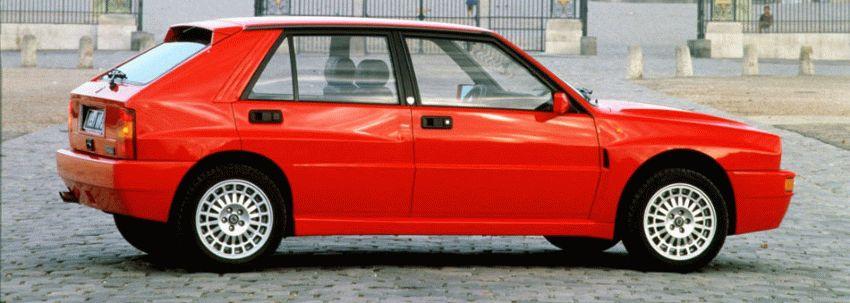 istoriya zarubezhnogo avtoproma  | lancia delta hf integrale 2 | Lancia Delta HF Integrale (Лянча Дельта ХФ интеграле) | Lancia Delta