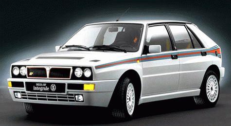 istoriya zarubezhnogo avtoproma  | lancia delta hf integrale 9 | Lancia Delta HF Integrale (Лянча Дельта ХФ интеграле) | Lancia Delta