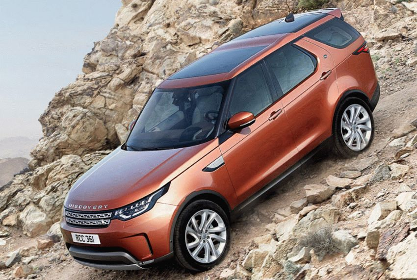 vnedorozhniki land rover  | land rover discovery 10 | Land Rover Discovery (Ленд Ровер Дискавери) 2017 2018 | Land Rover Discovery