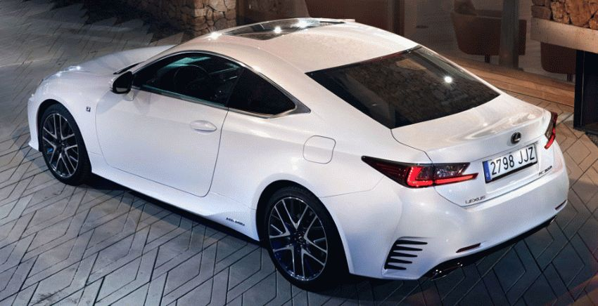 kupe lexus  | lexus rc 2 | Lexus RC (Лексус РС) 2017 2018 | Тест драйв Lexus Lexus RC