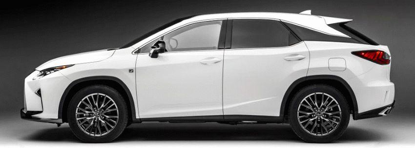 krossovery lexus  | lexus rx 2 | Lexus RX (Лексус РХ) 2017 2018 | Lexus RX