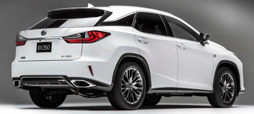 krossovery lexus  | lexus rx 3 | Lexus RX (Лексус РХ) 2017 2018 | Lexus RX