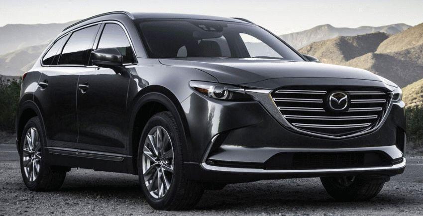 krossovery mazda  | mazda cx 9 1 | Mazda CX 9 (Мазда СХ 9) 2017 2018 | Mazda CX 9