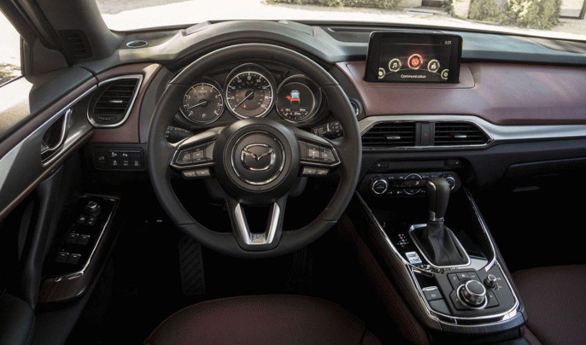 krossovery mazda  | mazda cx 9 4 | Mazda CX 9 (Мазда СХ 9) 2017 2018 | Mazda CX 9