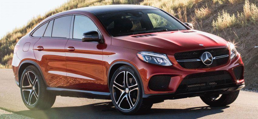 krossovery mercedes benz  | mercedes benz gle coupe 1 | Mercedes Benz GLE Coupe (Мерседес GLE Купе) 2017 2018 | Mercedes Benz GLE