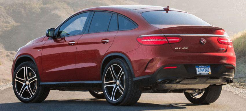 krossovery mercedes benz  | mercedes benz gle coupe 6 | Mercedes Benz GLE Coupe (Мерседес GLE Купе) 2017 2018 | Mercedes Benz GLE