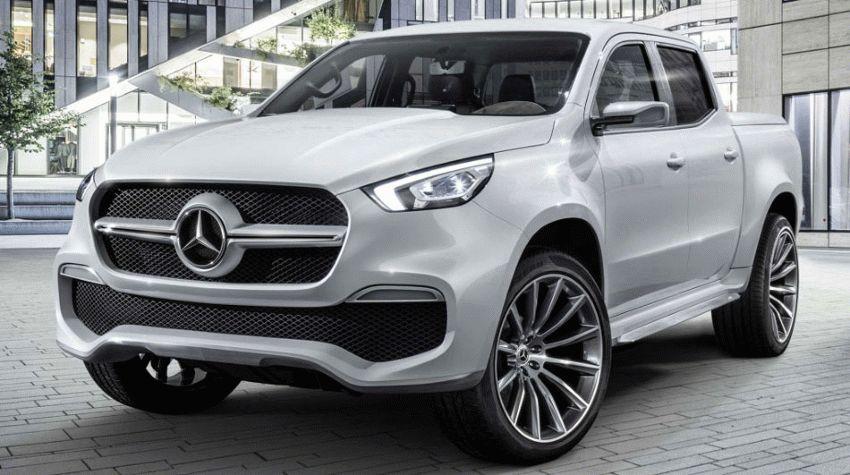 koncept avto  | mercedes benz x class 1 | Mercedes Benz X Class (Мерседес Х Класса) | Mercedes Benz X Class