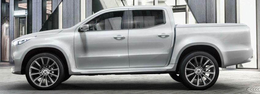 koncept avto  | mercedes benz x class 3 | Mercedes Benz X Class (Мерседес Х Класса) | Mercedes Benz X Class
