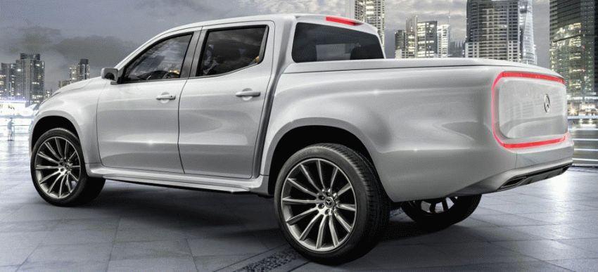 koncept avto  | mercedes benz x class 4 | Mercedes Benz X Class (Мерседес Х Класса) | Mercedes Benz X Class