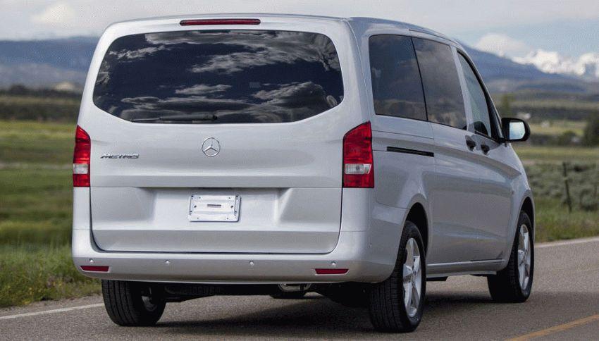 miniveny mercedes benz  | minivyen mercedes benz metris 10 | Mercedes Benz Metris (Мерседес Бенц Метрис) | Тест драйв Mercedes Benz Mercedes Benz Metris