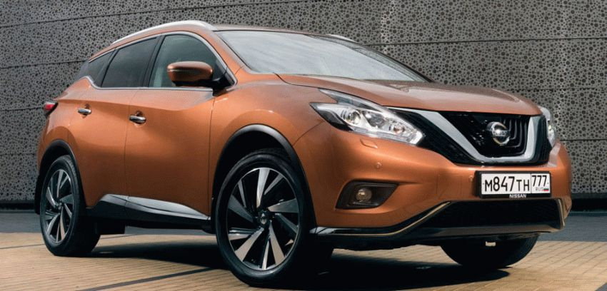 krossovery nissan  | nissan murano 1 | Nissan Murano (Ниссан Мурано) 2017 2018 | Тест драйв Nissan Nissan Murano